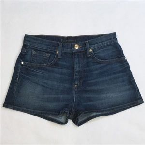 Juicy Couture Mid Rise Denim Shorts - size 26